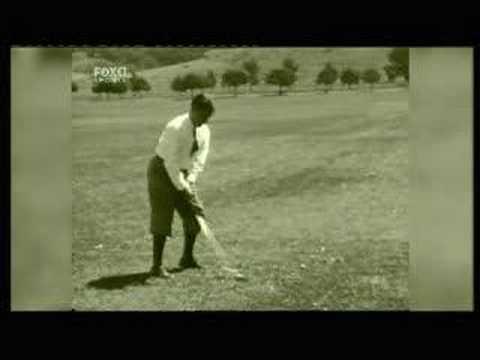 Golf: Bobby Jones swing analysis