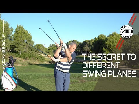 Golf – The Secret To Different Swing Planes