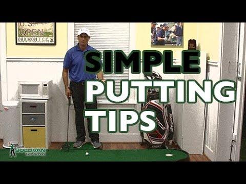 Basic Putting Tips