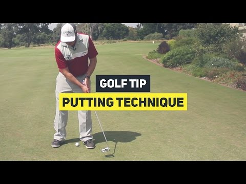 Simple Putting Technique || Golf Tip