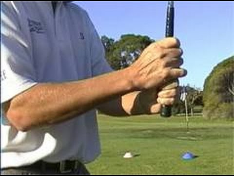Golf swing tips, golf grip, the right hand.