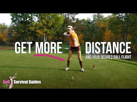 Maximize Distance Off the Tee