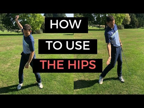 HOW TO USE THE HIPS IN THE GOLF SWING – CRAZY DETAIL