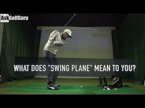 """What Does """"Swing Plane"""" Mean To You?"""