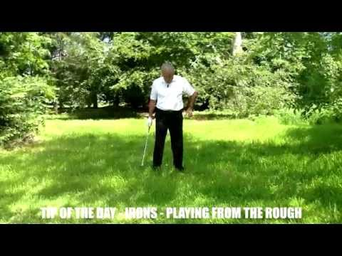 Tip of the Day – Irons – Playing from the rough