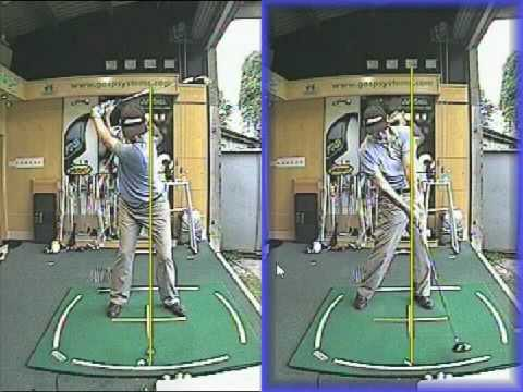 Golf Swing Tip   Driver And Iron Lesson