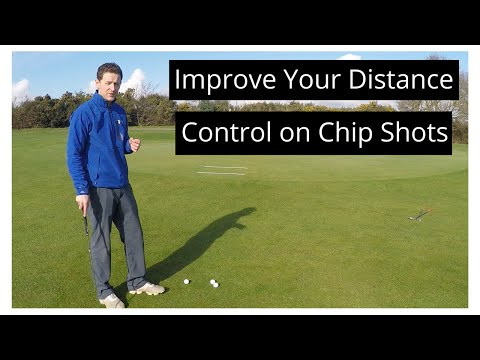 Distance control with chipping – Simple Drill