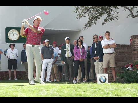 Bubba Watson at the BMW Championship Practice Rounds