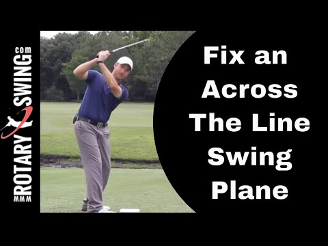 How to Stop Going Across the Line in Your Golf Swing