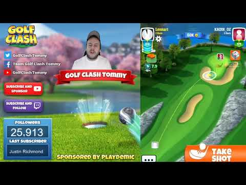 Golf Clash tips, Playthrough, Hole 1-9 – ROOKIE – Festive Cup Tournament!