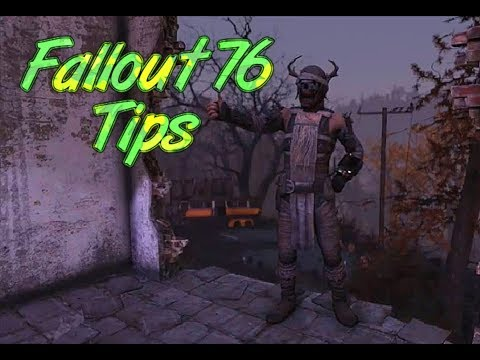 Fallout 76 Tips for Beginners and advanced players