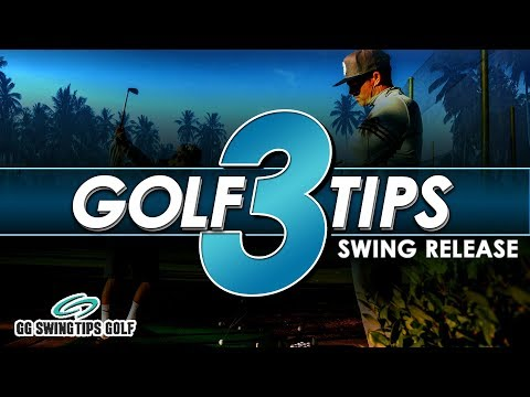 3 Tips To Enhance Your Golf Swing Release