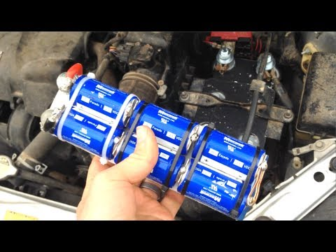 Replacing My Car Battery with Capacitors! 12V BoostPack Update
