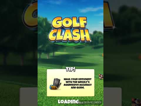 Golf clash tour 6 holes with shot advice
