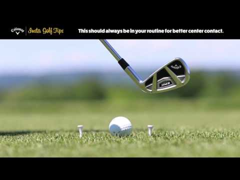 Insta Golf Tips- Center Contact With Irons