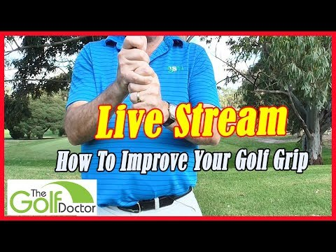 Saturday Morning Livestream 🔴 Lead Hand Placement For Right And Left Handed Golfers