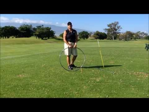 Use a Hula Hoop to Understand Swing Plane in Golf