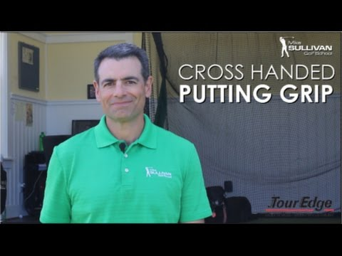 Cross Handed Putting Grip