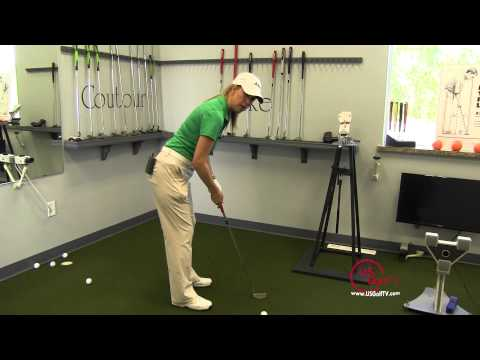 Golf Video Tip:  Putting Setup with Cheryl Anderson