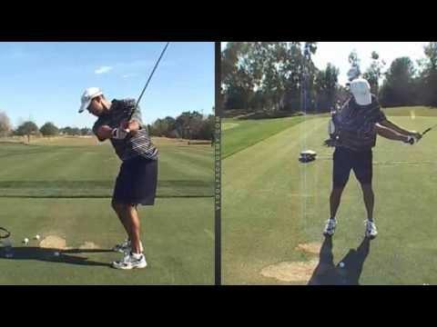 Left Handed Tiger Woods