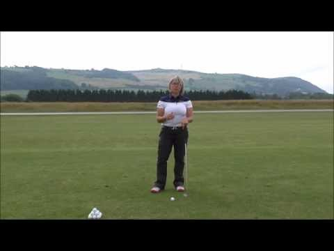 Simple drill to get you moving your body in the correct sequence on your downswing