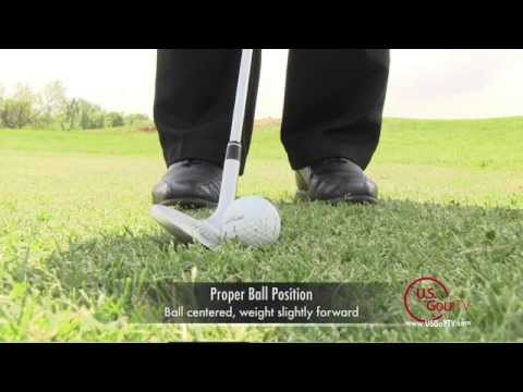Golf Video Lesson:  Improve Chipping with Better Ball Position