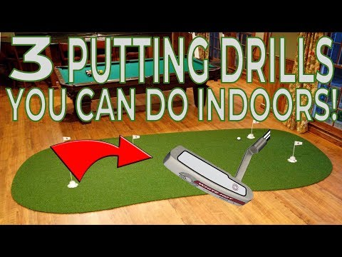 3 Putting Drills You Can Do Indoors – Scratch Golf Tips