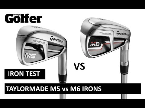 HEAD-TO-HEAD: TaylorMade M5 vs M6 irons