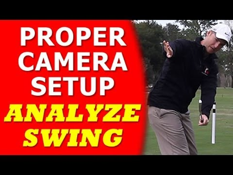 How To Setup Camera to Analyze Your Golf Swing