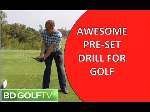 AWESOME PRE SET DRILL FOR GOLF