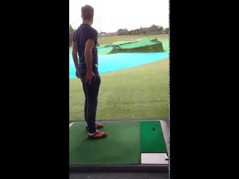 Golf gone Wrong – Golf club flies through air at Driving Range