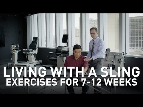 Shoulder Surgery Rehab: Exercises for 7-12 Weeks After Surgery| Martin Kelley, DPT of Penn Rehab