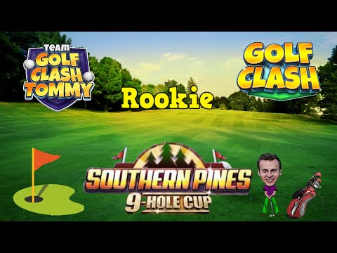 Golf Clash tips, Hole 9 – Par 5, Southern Pines – 9 Hole Cup – ROOKIE Guide