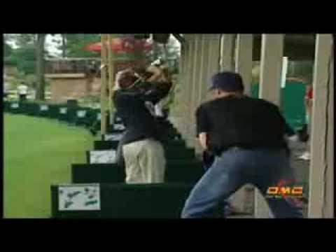 Redneck pranks people at local golf driving range