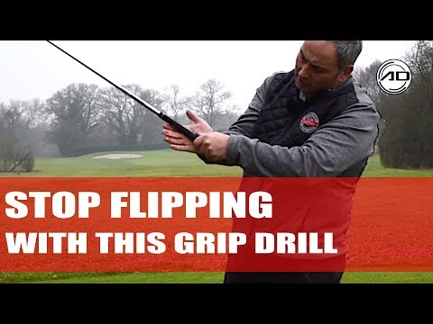 How To Change Your Grip to Stop Flipping at Impact