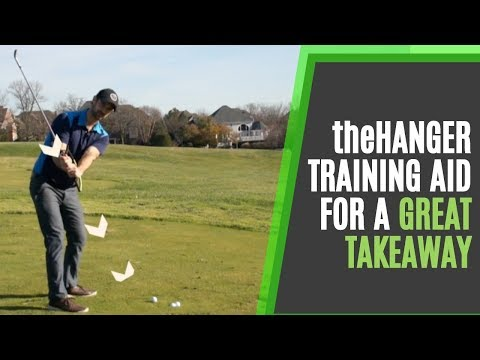 How To Improve Your Golf Swing Takeaway With The Hanger Training Aid