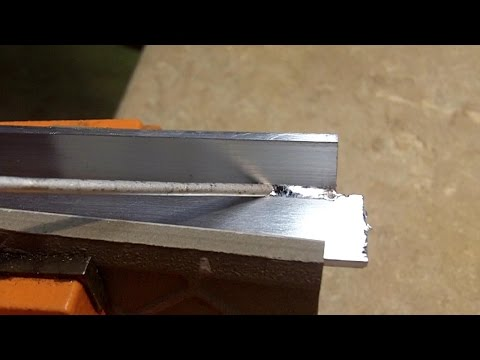 """How to """"Weld"""" Aluminum for Beginners"""