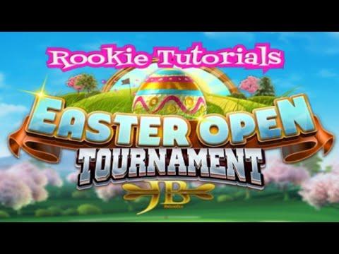 Golf Clash, Easter Open – Hole 1 – Par 4 – Rookie/Tutorial