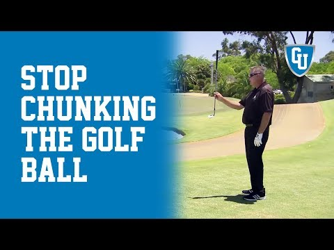 How to Avoid Chunking the Golf Ball while Chipping | How to Stop Chunking