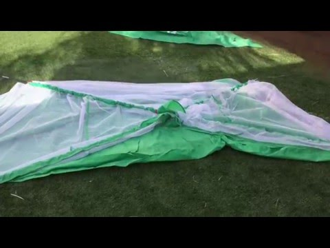 How to set up the EliteCaddy Sports Golf Driving Net (with demonstration)