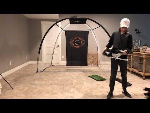 My personal indoor driving range!