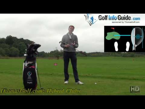 How to Hit a Golf Ball for Beginners – Hybrid Golf Clubs!