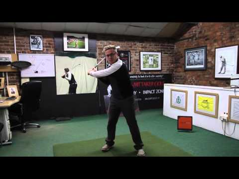 LEFT ARM AND SHOULDER MOVEMENT IN DOWNSWING