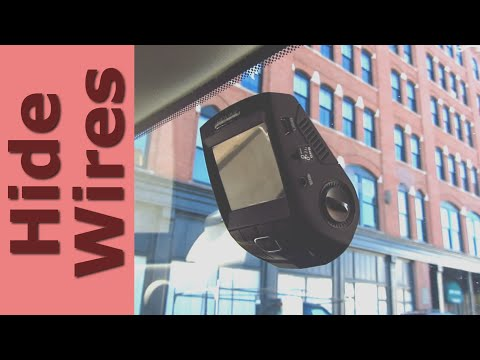 Dash Cam – How to Hide Wires for Beginners