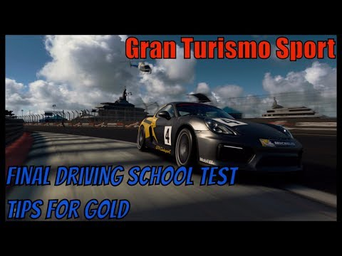 Gran Turismo Sport – Driving School Final Test – My Tips for Gold