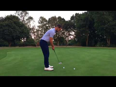 Putting Wrist Position – Ulna Deviate for better Face Control – JJ Golf PUTTING LESSONS