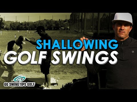 GG's Shallow Golf Swing Tips For DEEP SHOTS