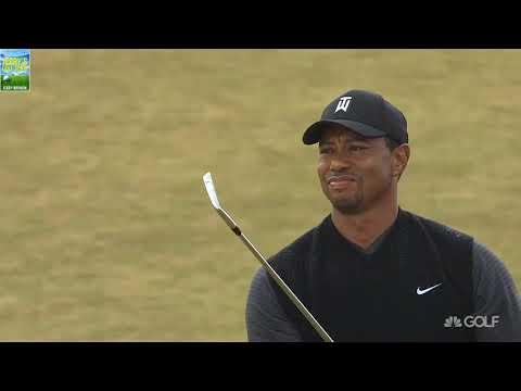 FULL HIGHLIGHTS Tiger Woods Beautiful Golf Shots 2018 British Open Championship