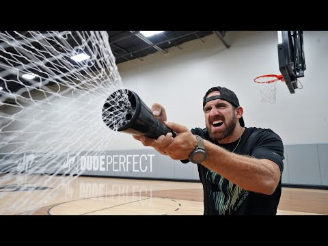 The Net Gun | Overtime 4 | Dude Perfect