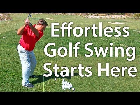 Effortless Golf Swing – It All Starts At Setup